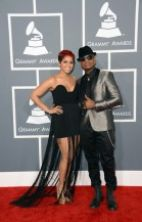 Wiz Khalifa and Amber Rose Grammys