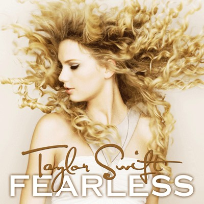 //Taylor Swift's Album Cover For 'Fearless'//