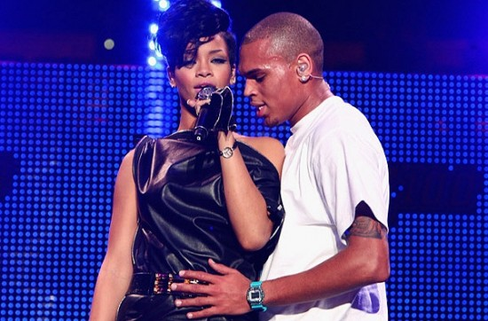 Rihanna and Chris Brown - Getty
