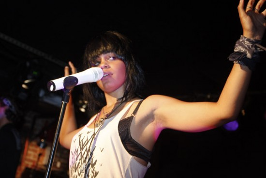 Fefe Dobson performs at the Mecury Lounge in New York - Wireimage