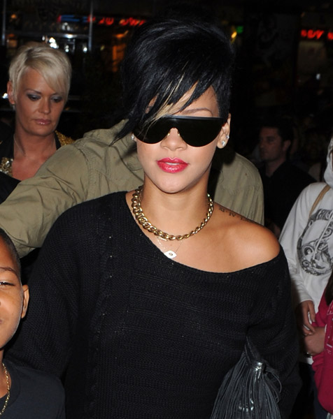 Rihanna loves the kids, especially her little brothers, 13-year-old Rajad