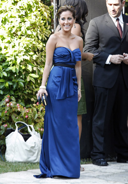 Adrienne bailon at kim kardashian wedding