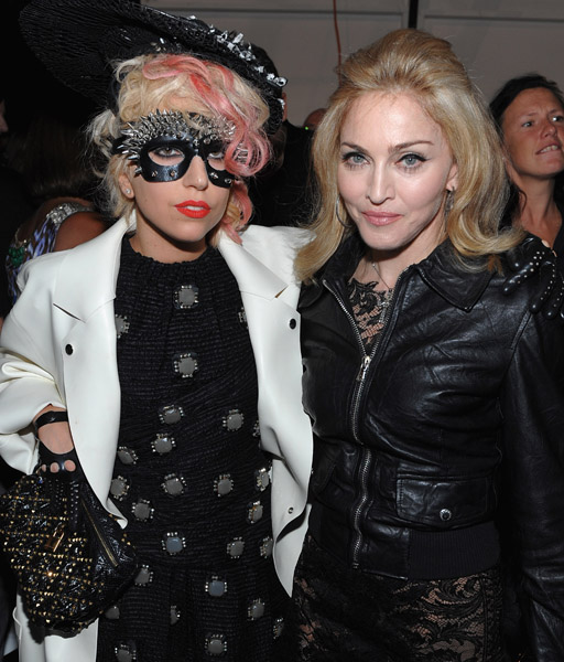 Lady GaGa and Madonna - Wireimage