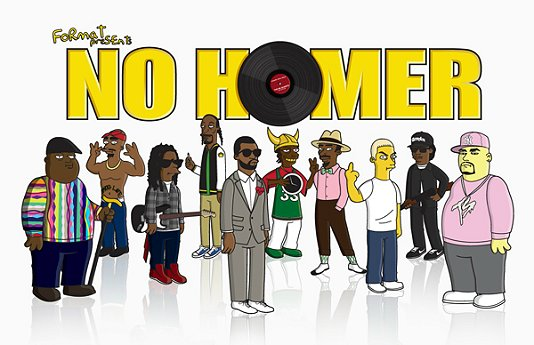 Hip Hop Icons get Simpsonized - Format Magazine