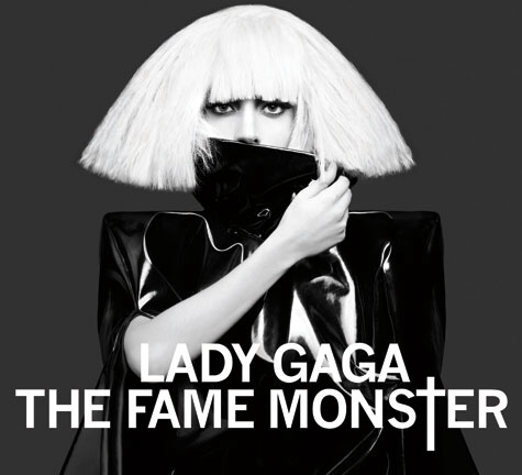 lady gaga album artwork. Lady GaGa is exploring the monsters of fame on the re-release to her smash