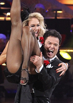 Donny Osmond and Kym Johnson - ABC/Adam Larkey