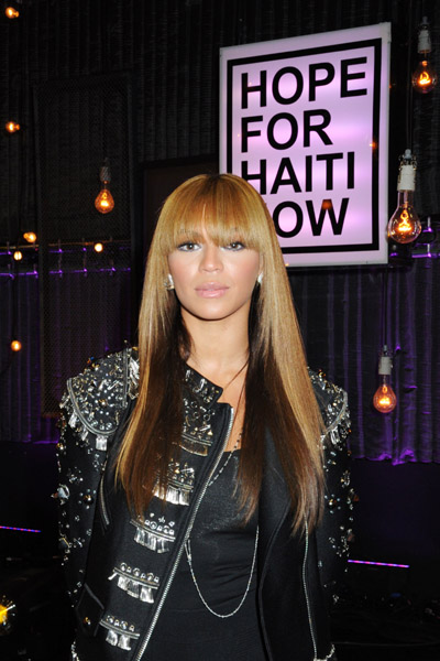 "Beyonce 2 ""HOPE FOR HAITI NOW"" TELETHON"