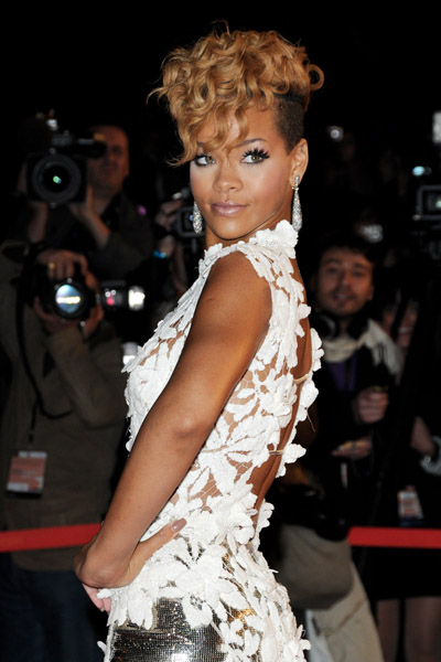 Rihanna At NRJ Awards