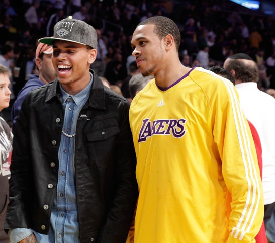 Chris Brown and Shannon Brown | Neon Limelight - Exclusive ...