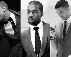 Chris Brown, Kanye West, Drake