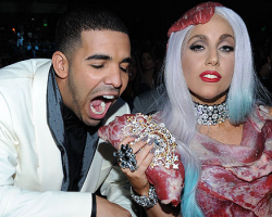 Drake and Lady Gaga - MTV