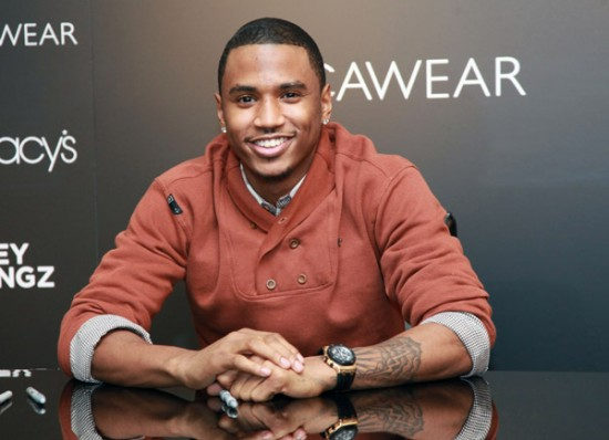 Photos: Trey Songz Promotes Rocawear At Macy's In NYC ... Trey Songz Smile 2014
