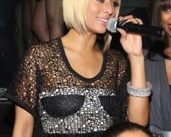 Keri Hilson at album release party