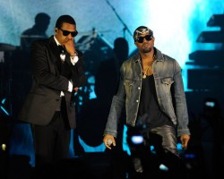 Jay-Z and Kanye West - Wireimage