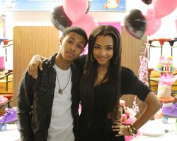 Diggy attends Jessica Jarrell's Sweet 16 party