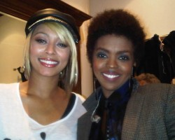 Keri Hilson and Lauryn Hill - Twitpic