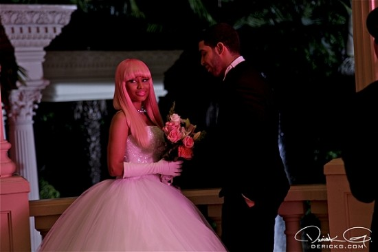 nicki minaj and drake wedding pictures. Nicki Minaj and Drake - Derick
