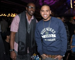 Terrell Owens and Chris Brown - Getty Images