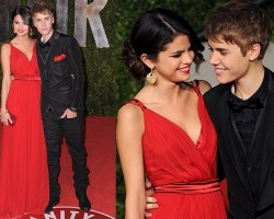 Selena Gomez and Justin Bieber - Wireimage