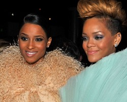 Ciara and Rihanna - Wireimage