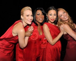 Natasha Bedingfield, Patti LaBelle, Ann Curry and Cat Deeley - Getty