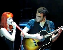 Hayley Williams and Taylor York - youtube