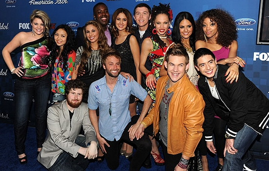 american idol season 10 contestants. American Idol season 10#39;s top