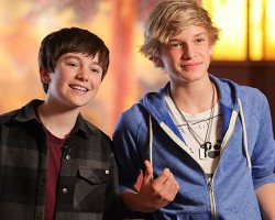 Greyson Chance and Cody Simpson - Wireimage