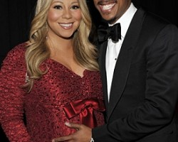 Mariah Carey and Nick Cannon - Wireimage