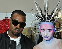 Kanye West and Katy Perry