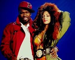 50 Cent and Nicole Scherzinger