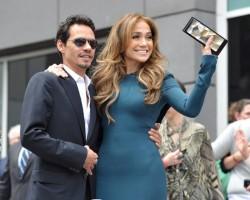 Marc Anthony and Jennifer Lopez - Wireimage