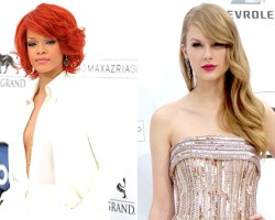 Rihanna, Taylor Swift - Wireimage