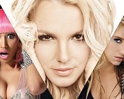 Nicki Minaj, Britney Spears, Ke$ha