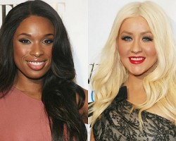 Jennifer Hudson, Christina Aguilera - Getty