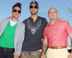 Prince Royce, Enrique Iglesias, Pitbull - Wireimage