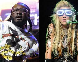 T-Pain, Ke$ha - Getty