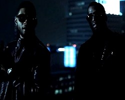 "Usher and Diddy in ""Looking For Love"""