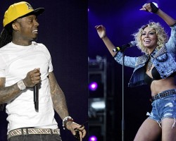 Lil Wayne, Keri Hilson - Getty