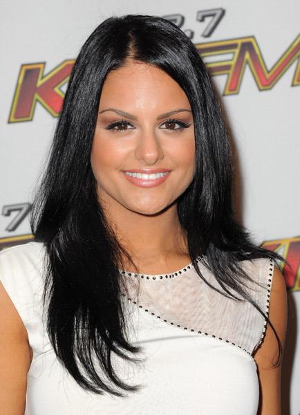 American Idol's Pia Toscano attends 2011 Wango Tango