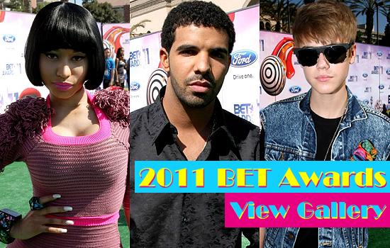 Nicki+minaj+and+drake+2011+bet+awards