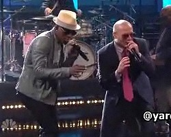 Ne-Yo and Pitbull