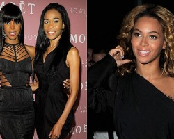 Kelly Rowland, Michelle Williams, Beyoncé - Wireimage