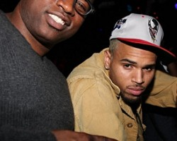 David Banner and Chris Brown - Wireimage