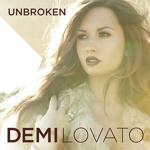 "Demi Lovato Unveils ""Unbroken"" Album Cover Artwork 
