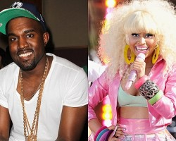Kanye West, Nicki Minaj - Wireimage