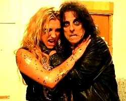 Ke$ha and Alice Cooper