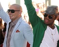 Pitbull and Ne-Yo - Wireimage
