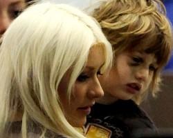 Christina Aguilera and Max - INF via AmyGrindhouse.com
