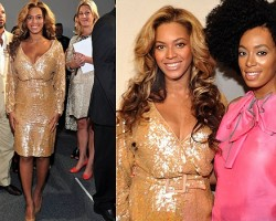 Beyoncé and Solange - Wireimage